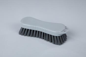 Прочная ручная щетка типа «страйт» для сложных загрязнений 210 x 70 мм (цвет серый)