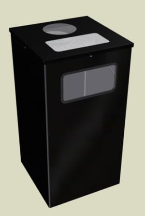 Контейнеры для мусора 80л.(Уника.Квадро)