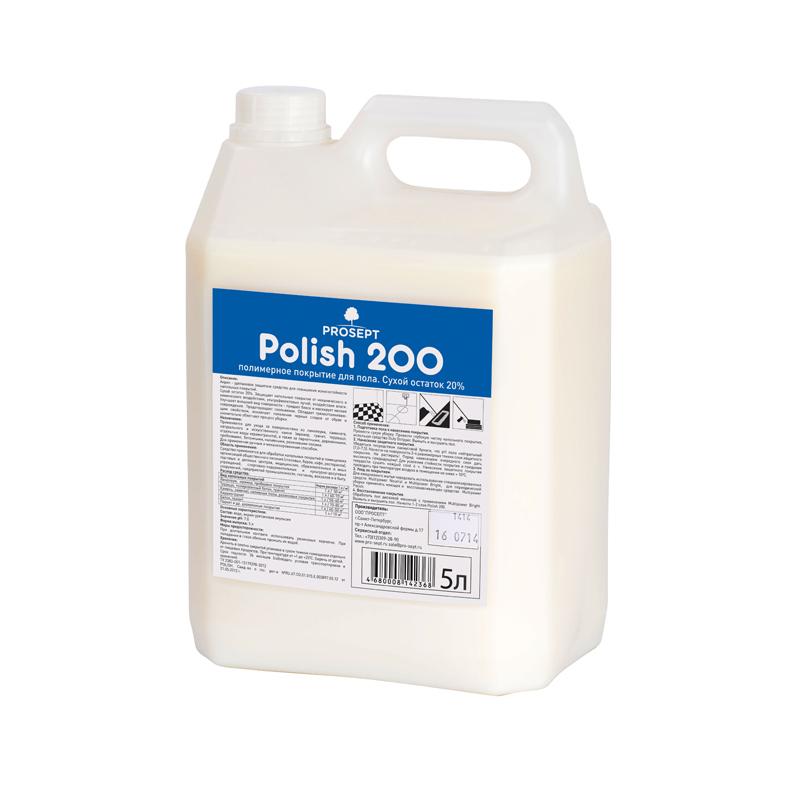 Polish  200. 5 л. Полимерное покрытие для пола  Prosept