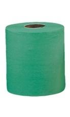 Бумажные полотенца 1 сл 400м. зеленые Merida