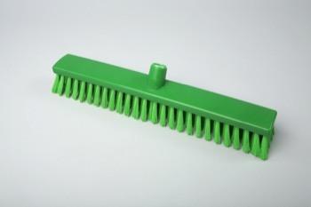 Щетка для пола жесткая 400*65 мм, зеленый