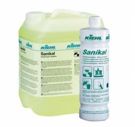 Sanikal 10 л. Средство для уборки санитарных помещений Kiehl