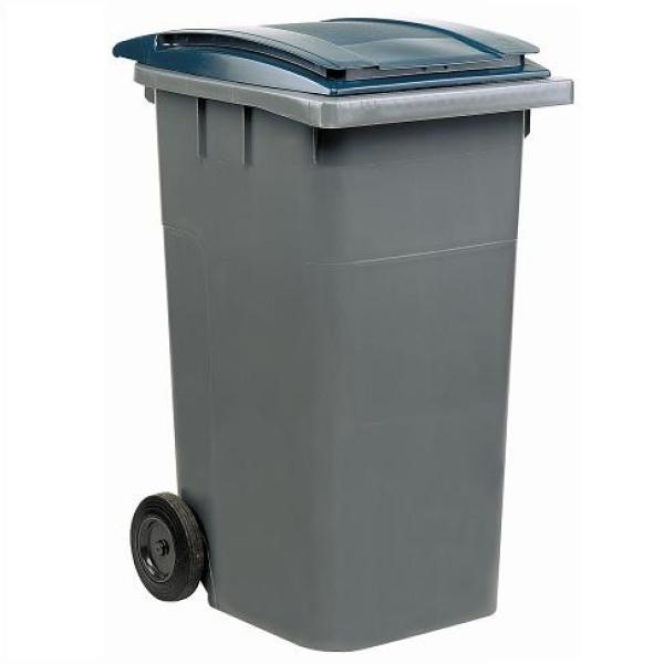Контейнер для мусора 240л. (сер/т.сер) Merida