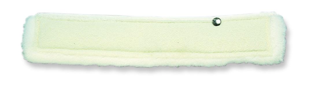 Шубка для мытья окон 35 см. из полиэстера с абразивной вставкой, TTS