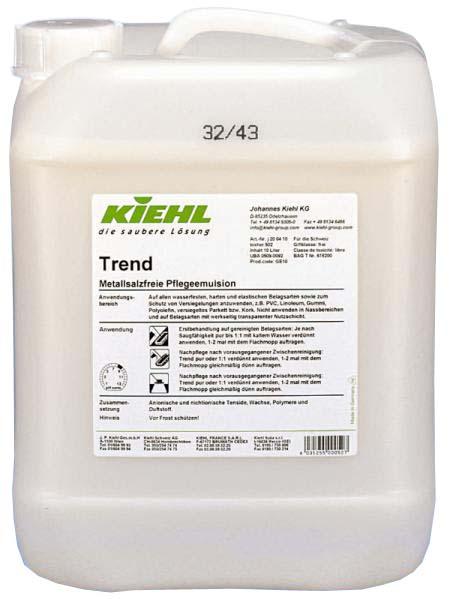 Trend 5 л. Защитная эмульсия без солей металлов (DIN 18032) Kiehl