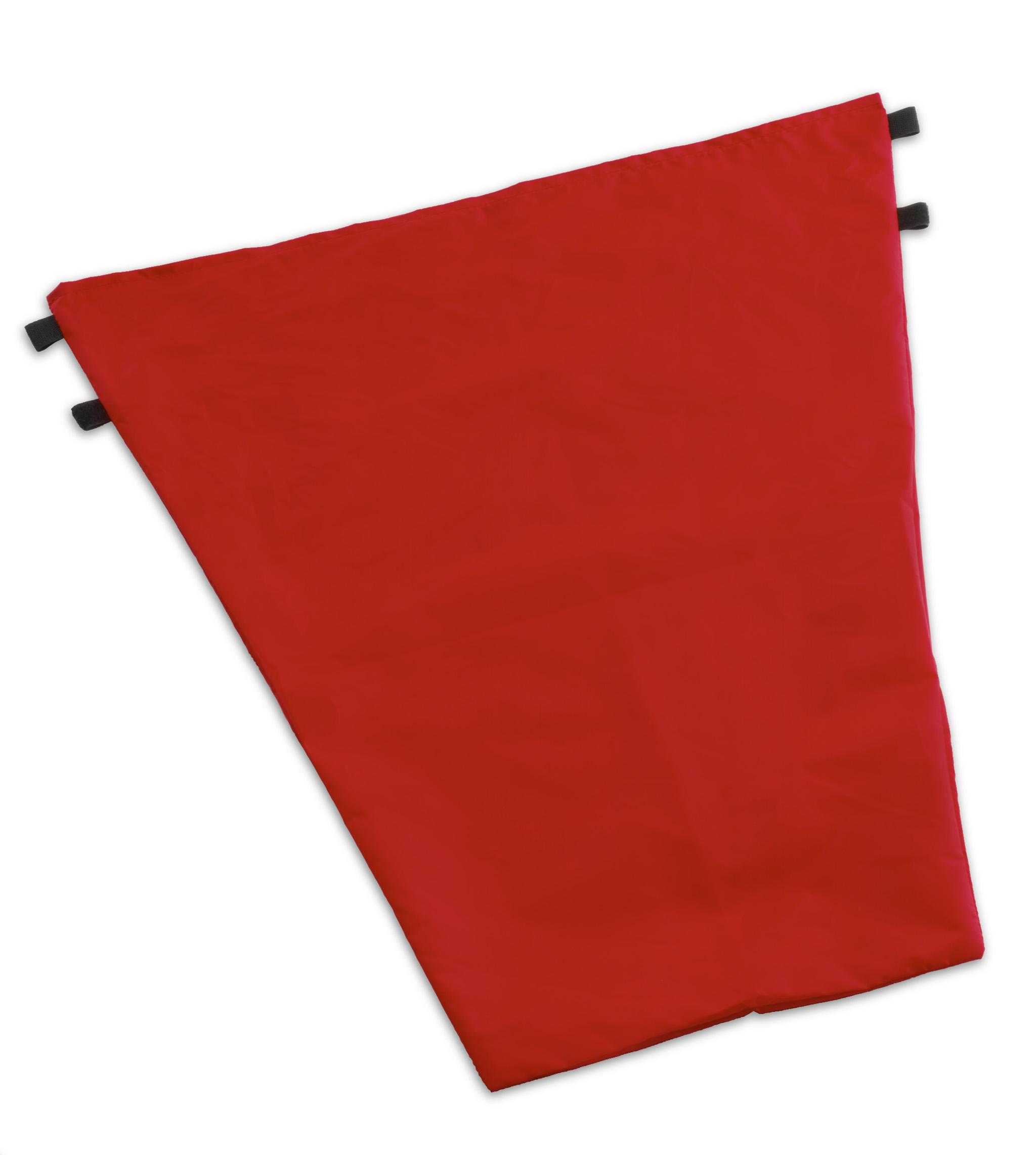 Мешок для уборочных тележек Nick plus. 50 л. красный TTS
