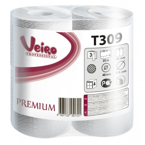 Veiro Professional Premium Туалетная бумага в малых рулонах 3сл. 1уп/48 шт