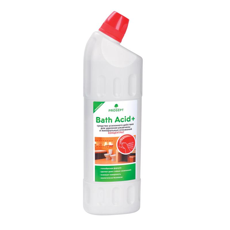 Bath Acid+ 1 л. Средство усиленного действия для удаления ржавчины и минеральных отложений. Prosept