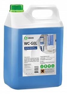 WC-gel 5 л. Средство для чистки сантехники Grass