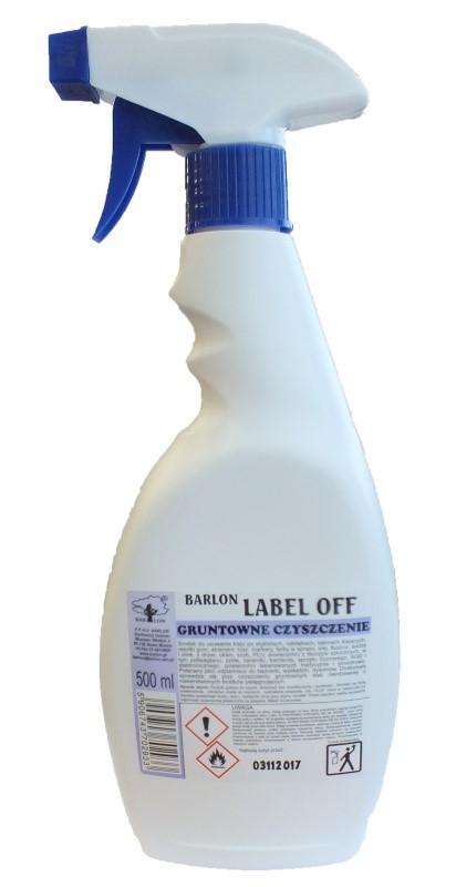 Label Off 0.5 л. Средство для удаления клея,остатков битума, чернил, туши, Мerida