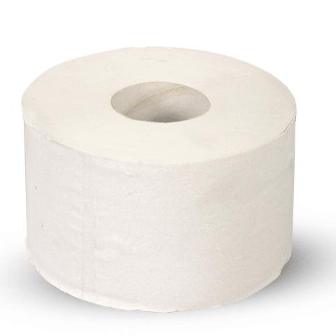 Туалетная бумага  натуральный цвет 1 сл, 200 м(1уп/12рул)