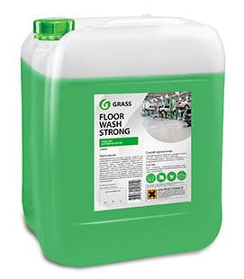 Floor wash strong 10л. Щелочное средство для мытья пола Grass