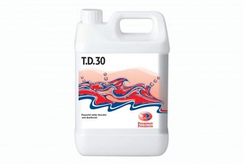 T.D.30 5 л.Средство для удаления отложений в санитарных помещениях PP