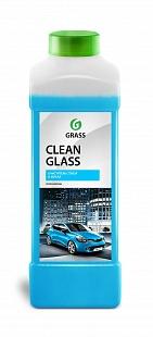 Clean glass 1л. Средство для очистки стекол и зеркал Grass