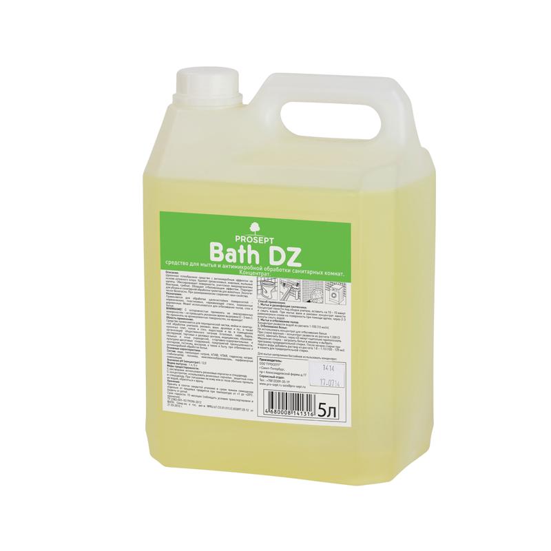 Bath DZ 5 л. Средство для мытья и антимикробной обработки сантехники Prosept