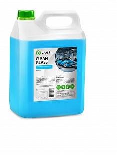 Clean glass 5л. Средство для очистки стекол и зеркал Grass