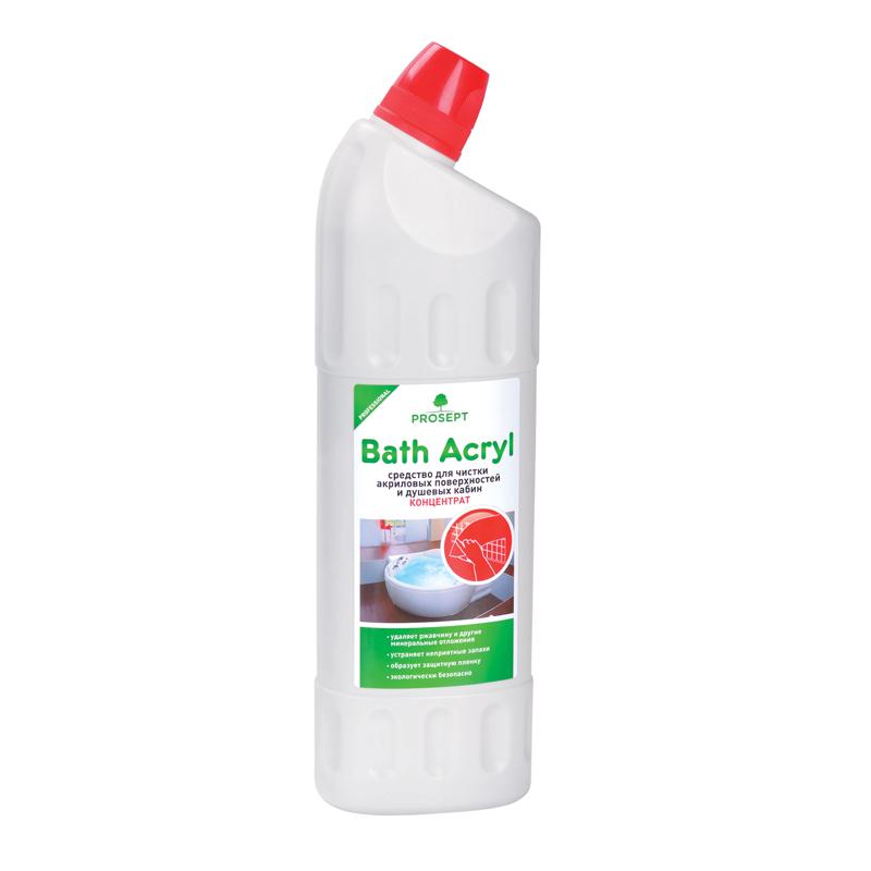 Bath Acryl 1 л. Средство для чистки акриловых поверхностей и душевых кабин. Prosept