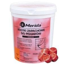 Merida таблетки для писсуаров 1кг. (клубника)