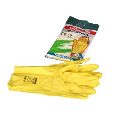 Перчатки резиновые VILEDA Contract S