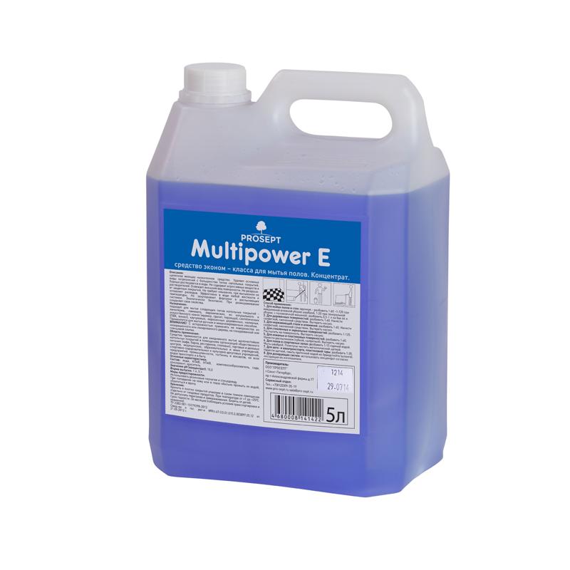 Multipower E 5 л. Концентрат эконом класса для мытья полов Prosept