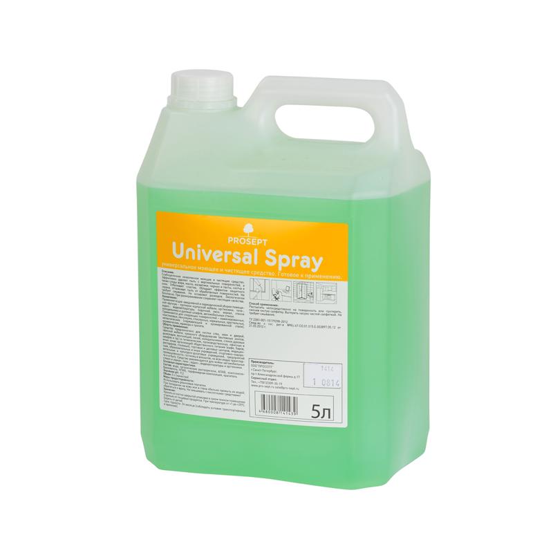 Universal Spray. 5 л. Универсальное моющее и чистящее средство Prosept