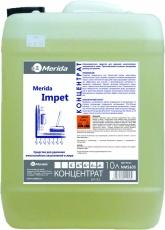 IMPET 10 л. Сильнощелочное редство для удаления многослойных загрязнений и жира. MERIDA
