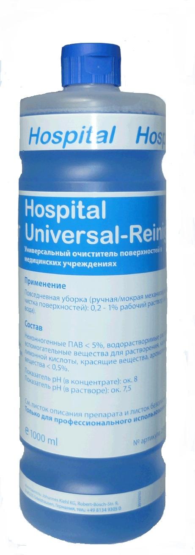 Hospital Universal-Reiniger 1 л. Универсальный очиститель поверхностей медицинских учр. Kiehl