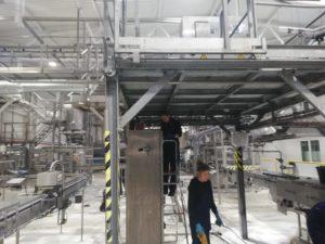 Уборка на заводе